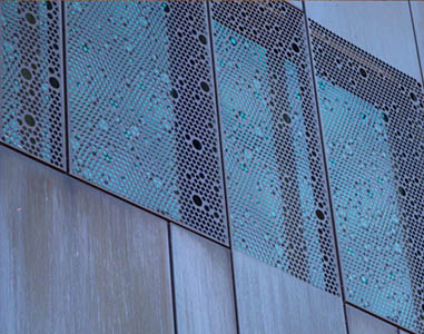 WINDTHERM CONSTRUCT SRL, Fațadă metalică